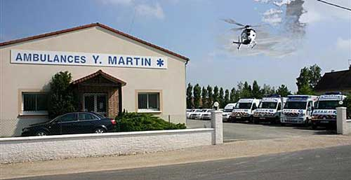 batiment ambulance martin
