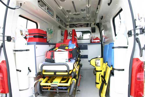 interieur ambulance martin